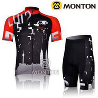 Wholesale 2014 Newest semi custom cycling jersey Road Bicycle wear suit MONTON cycling jersey Short Sleeve Riding Clothes cycling jersey manufacturers
