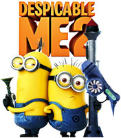 Wholesale Cartoon Baby Nursery Despicable Me Wall Stickers Decals for Kids Rooms Home Decor on a Wall Paper Art Lego Movie Poster Adhesive
