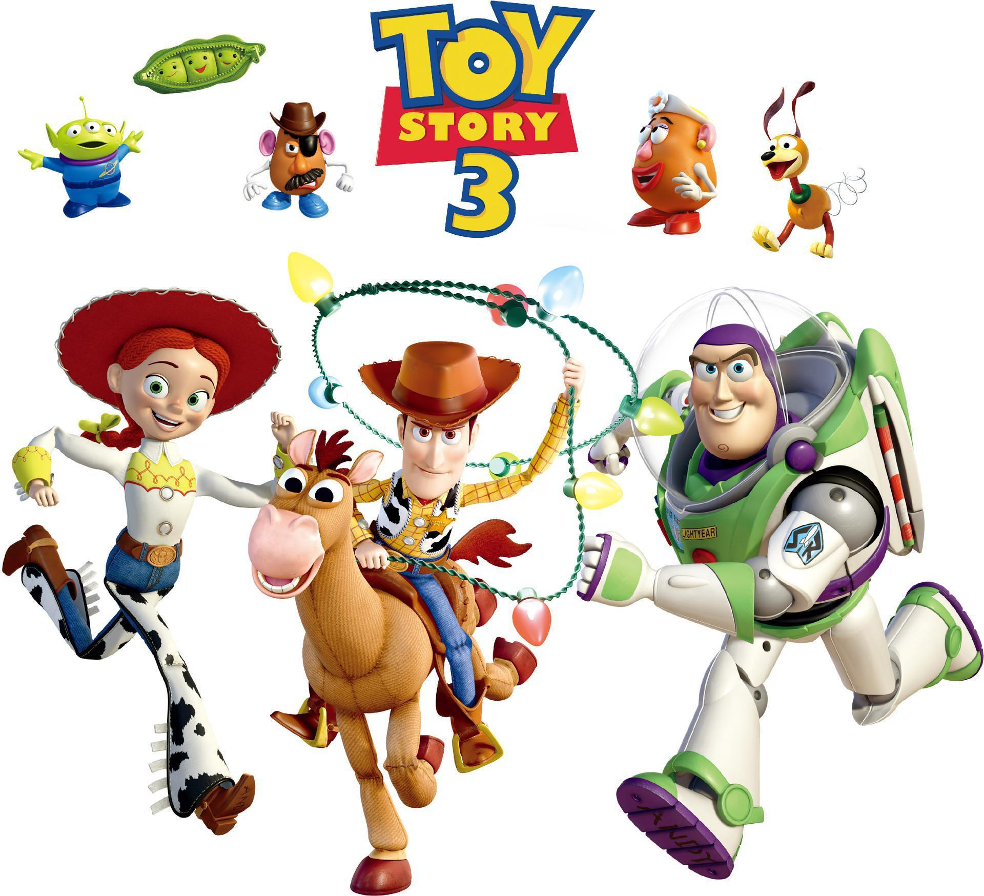 Removable PVC Toy Story 3 Woody Bullseye Wall Sticker For Kids Nursery,  Cartoon Decorative Wall Decal Movie Poster Home Decoration Wall Art Cartoon  Wall ... Part 28