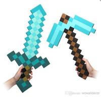 Wholesale Minecraft Toys Diamond Pickaxe Sword Toddler Toys for Children Christmas Party Decoration Kids Halloween Costume Gifts Minecraf Games