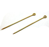 Wholesale DIY sharp eye pin uslim hijab pins backs nickle free lead free accessories jewelry findings and components mm brass raw color bag