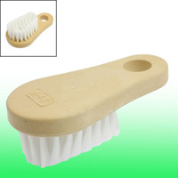 auto carpet - Wooden Handle Carpet Seat Cleaning Brush Tool for Auto Vehicle