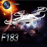 Wholesale New Arrival F183 GHz Gyro Axis RC Helicopter Drone Quadcopter With MP HD Camera High Quality X5C CX20