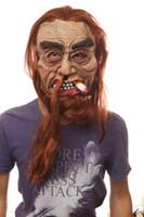 Wholesale Christmas performances smoker latex masks cartoon masks masks ghost masks Diao tobacco smoke check shipments