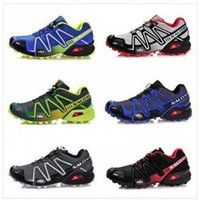 Wholesale 2014 Zapatillas Salomon shoes Salomon mens schuhe Outdoor Sports Shoe Speedcross Running Shoes all color freeshipping