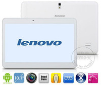 Wholesale Lenovo Tablets quot IPS S6000D Tablet MTK6582 Quad Core RAM GB HDD GB Built in G GPS Bluetooth Wifi Dual SIM Call Dual Camera