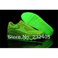 in style shoes - New Arrival Air Glow In the Dark Limited Style Running Shoes sneakers Professional Brand Designers