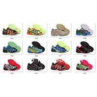 ExtraNarrow(AAA+) camouflage shoes - New Camouflage Color arrival Salomon Men Running Shoes salomon Speedcross Run Shoes For Men Athletic Shoes