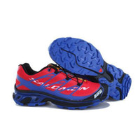 Running Men Summer 2014 Hot selling Salomon S-lab Sense Men Running Shoes Red Blue Hiking shoes leisure shoes Free Shipping Size:40-44