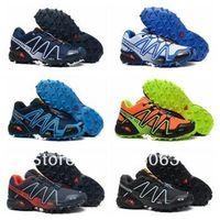 Medium(B zapatillas salomon - zapatillas salomon hombre salamon original scarpe Speedcross CS Waterproof Leather Mens Shoes Calzado Deportivo