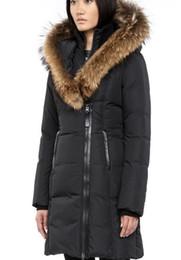 Wholesale Mackage long coat women coat new down coat CHASKA F4 LONG DOWN COAT WITH FUR HOOD color
