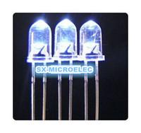 Wholesale mm led white light bulbs MM White Colour LED emitting diode F5mm White LED