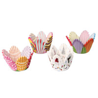 muffin - 75 Mixed Petal Muffin Cupcake Paper Cases Liners Cups