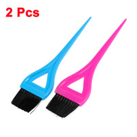 air flow handle - 2pcs Blue Purple Plastic Handle Air Conditioner Flow Vent Brush for Car
