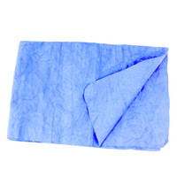 Wholesale 43x32cm Blue Synthetic Chamois Cleaning Cham Towel Water Absorbing Power for Car