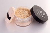 mineral foundation - Free Shippin Double Wear Mineral Rich Loose Powder with Cotton Puff Base Makeup For Face Care Foundation Professional makeup