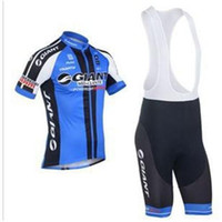 Wholesale NEW GIANT Cycling clothes jersey Quick Dry and Breathable fabric bicycle jersey Bike jerseys bibs shorts