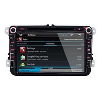Wholesale JOYOUS quot Volkswagen Passat Golf Tiguan Special din Car DVD Player WIFI IPOD GPS Navigation Radio BT AUX Car DVD OBD P