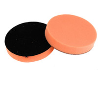 Wholesale 2PCS Black Orange Rounded Sponge Polisher Scourer Tool quot Diameter for Car