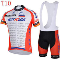 Wholesale 2014 famous team outdoor fitting wear kat Cycling Jersey short sleeve bib pants bicycle wear good quality