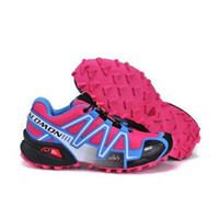 Wholesale New Zapatillas Salomon Speedcross Running Shoes women s Walking Outdoor Sport Athletic Shoes Size