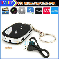 Wholesale 32gb Mini Micro Car Key Chain Hidden Spy Digital Camera Cam HD Motion DVR DV Video Recorder USB