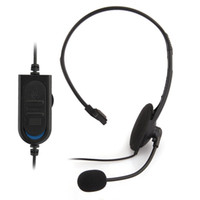 Cheap Wired Headset Headphone Microphone for Sony Playstation 4 PS4 Black