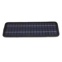 Wholesale 12V W Car Boat Motorcycle Phone Battery Charger Solar Powered Panel USB