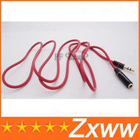Aux Extension Cable monster beats solo - High Quality m mm mm Male to Female Solo Studio Car Aux Audio Extension Cable for Monster Beats HZ