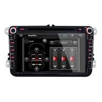 Wholesale JOYOUS quot Volkswagen Passat Golf Tiguan Special din Car DVD Player WIFI IPOD GPS Navigation FM AM Radio Bluetooth AUX function Car DVD