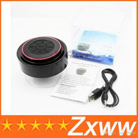 Cheap New Mini IPX7 Outdoor Portable Waterproof Wireless Bluetooth Speaker Suction Cup Handsfree MIC Voice Box For iphone 4s 5S ipad PC HZ 810