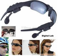 Yes fm bluetooth sunglasses - 2GB Glass MP3 Headphone without bluetooth Sunglasses Mp3 Player ZXJ