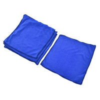 Wholesale Vehicle Auto Door Glass Washing Towel Cloth Cleaning Tool Blue cm x cm