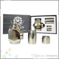 Cheap Vaporizer Hammer Pipe Mod Kit E Pipe Mod Mechanical Hammer Battery Body for 510 Atomizer E Cigarette