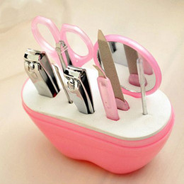 Wholesale Stainless Steel Cosmetic Tools Nail Clipper Scissors Manicure Tools