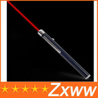 Wholesale 5MW mW High Power RED Laser Beam Pointer Point Pen for PPT MEETING TEACHER MANAGER AA64 HZ