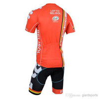 Wholesale new model lotto cycling jerseys belisol bike clothing outdoor short sleeve mens sport wear good quality