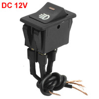 Wholesale Truck Car mm x mm Mounted Size Pre wired Boat Rocker Switch DC V