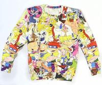 Cheap Harajuku New Spring 2014 Women Men Clothes Floral Cartoon Adventure Time Simpsons Punk 3D Print Hoodie Sweatshirt Sweater Tshirt+ hoodies &