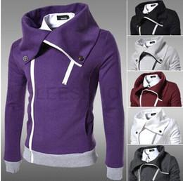 Wholesale new arrive fashion casual slim thickening men hoodie men s long sleeve with a hood sweatshirt coat