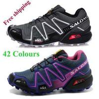 zapatillas salomon - 2014 Zapatillas Salomon Speedcross Running Shoes Men hombres Solomon zapatillas deportivas Athletic Shoes salomon schuhe free