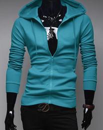 Free Shipping Autumn Men's Letters Sweatshirts Long Sleeve Hoodies Zipper Cardigan Outwear Mens Coat Sweatshirt Red Black Blue