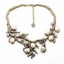 Wholesale Personalized Jewels Sets Tree Branches Shape Women Necklaces cm Women Ear Rings cm Best Design xl00993