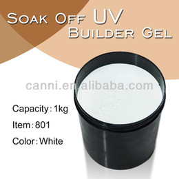 Wholesale X kg Barrel CANNI Factory Hot Sale Nail Art Clear Transparent Color UV Builder Gel kg Raw Material Camouflage UV Gel