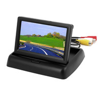 Wholesale Foldable Inch Color LCD TFT Rear View Monitor Screen for Car Back Up Camera