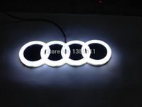 car accessories logo - New Car Accessories For A3 Q5 cm X cm D Led Car Logo Lamp Auto Led EL Emblem Lamp Rear Logo Badge Light Decorative Sticke