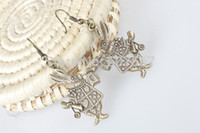 alice earrings - Alice in Wonderland rabbit earring Wonderland inspired Dangle Earrings