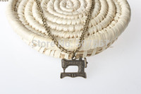 liquidation - Sewing Machine Vintage Dangle Bronze Tone European Style Beads Spacer Charms for Necklace Liquidation