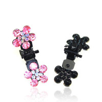 Wholesale Discount Fashion Hair Jewelry Crystal Rhinestone Hair Accessories Hair Ornaments Bow N29147