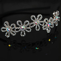 Wholesale Price Star Cloth Wrapped Around The Hoop Alloy Factory Full Diamond Tiara Hair Accessories Hair Band Hair Ring Hair Ring W27313